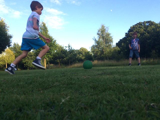 woodcraft children playing football